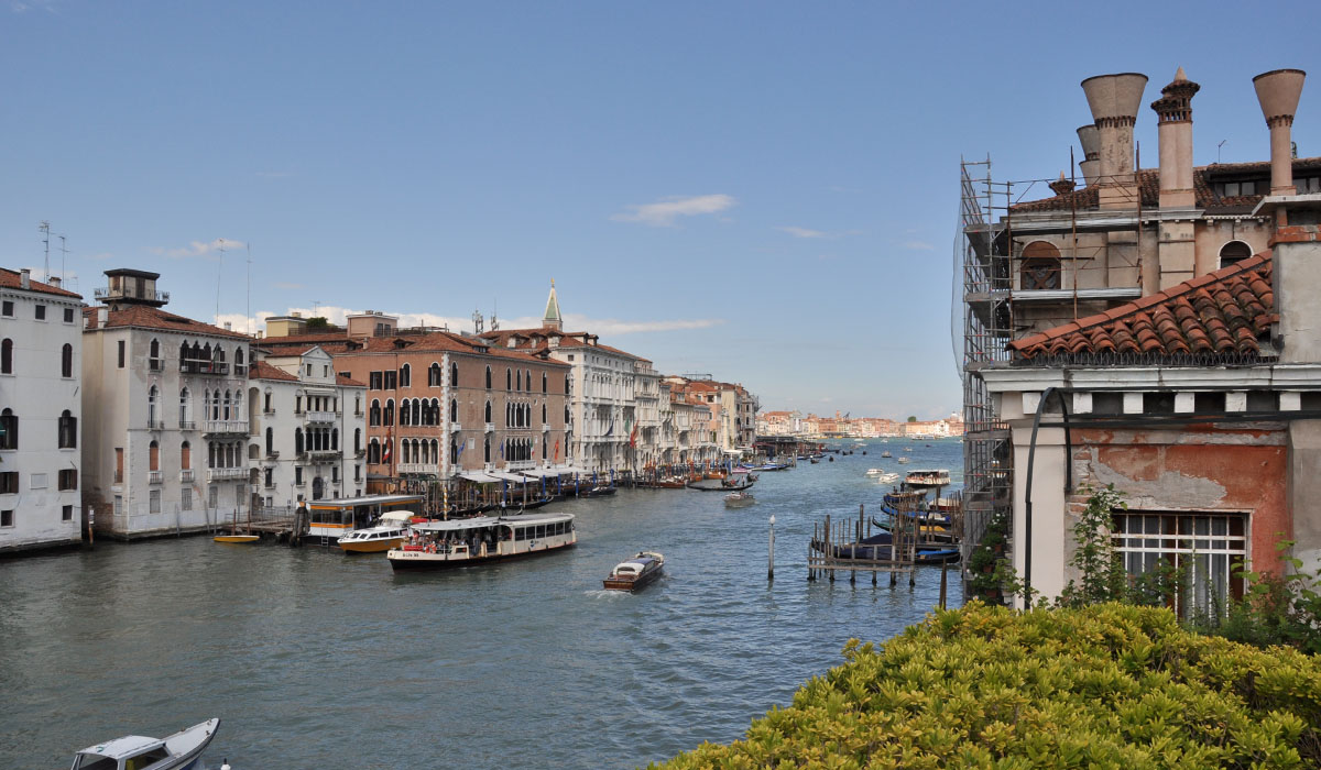 Venezia dal terrazzo del Peggy Guggenheim