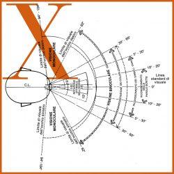 Campo visivo sul piano orizzontale, Spazi a misura d'uomo, 1979