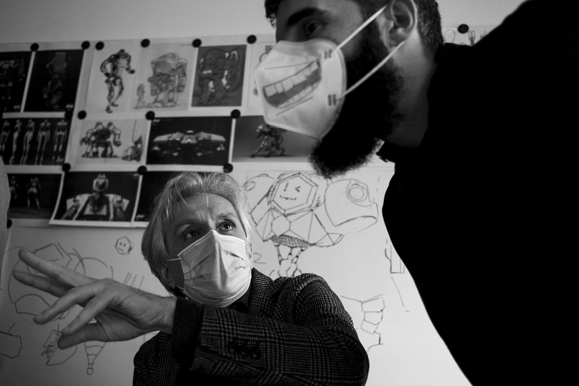 Foto m2o: Human Logo - Vitruvio Virtual Reality